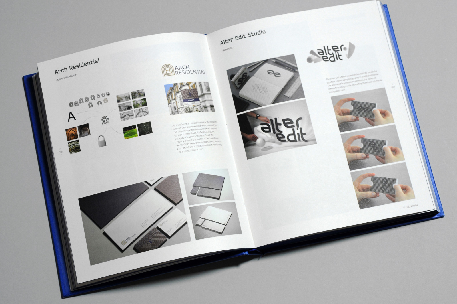 Arch Residential brand identity by Europa Studio published in Branding Element, Logo 3, Volume 3, 58, 2014