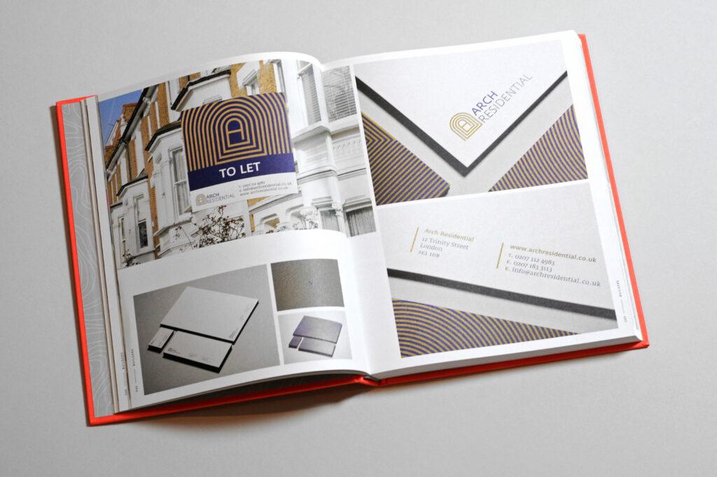 Brand Built — property branding — Arch Residential logo