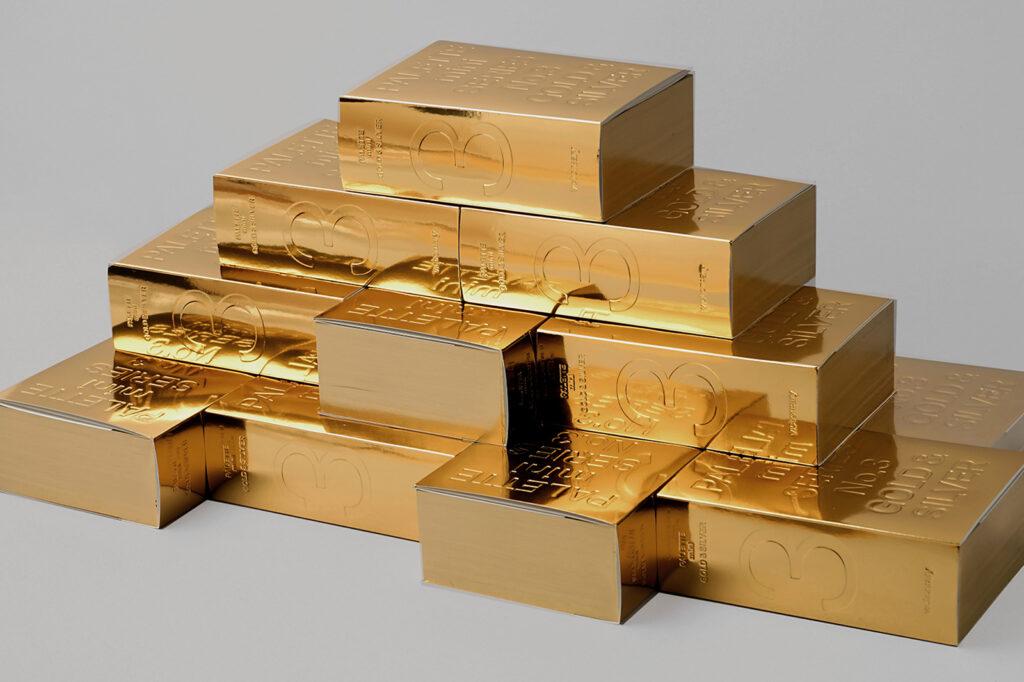Palette mini series 03: Gold & Silver, New Metallic Graphics, 2020